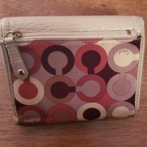 Coach Bags - Red coach purse with coach wallet Both are used bu
